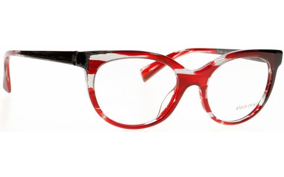 25e5e21376 Alain Mikli A03078 006 51 Glasses - Free Shipping